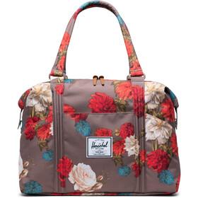 Herschel Strand Tote Bag, vintage floral pine bark